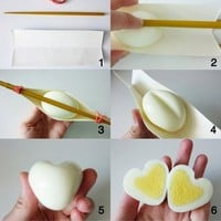 Holiday / How to Make a Heart Shaped Egg: if only my kids loved http://tinyurl.com/2ve4dmj