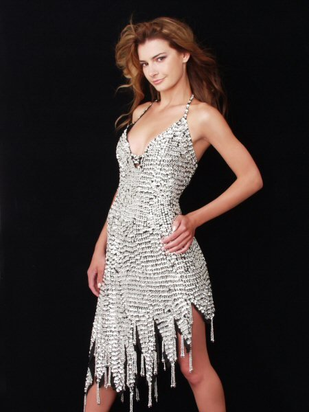Sequins and Beaded Dress by Simply Sonya by SMS