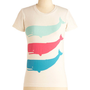 A Whale-y Good Time Top | Mod Retro Vintage T-Shirts | ModCloth.com