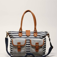 AEO Striped Carryall | American Eagle Outfitters