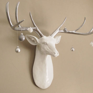 Faux Taxidermy Deer Head Extra Large From Hodi Home Decor