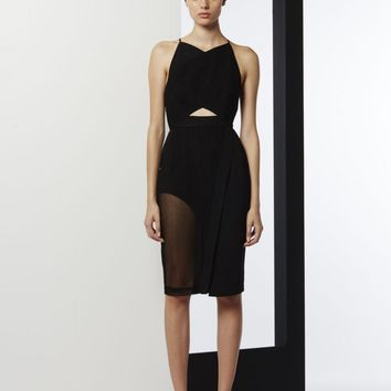 THE CAGED CROSS OVER BODYCON