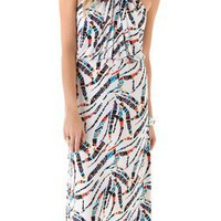 Tbags Los Angeles Printed Halter Maxi Dress | SHOPBOP