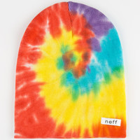 Neff Hippie Tie Dye Beanie Rainbow One Size For Men 24654795101
