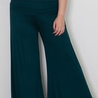Classic Jersey Pants in Forest