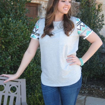 Glam in Sequins Short Sleeve Top