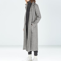 Extra long coat
