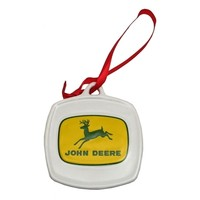 SheilaShrubs.com: John Deere 1956 Logo Ornament 0193-615859 by IWGAC: Christmas Tree Ornaments