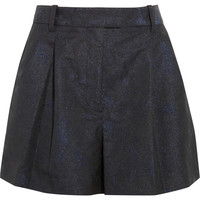 3.1 Phillip Lim Pleated glittered jacquard shorts – 55% at THE OUTNET.COM