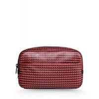Marc By Marc Jacobs Leather Pouch - Printed Leather Pouch - ShopBAZAAR
