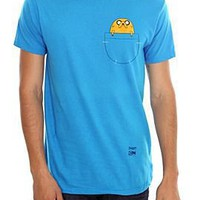 Adventure Time Jake In Pocket T-Shirt - 149914