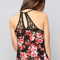 Flower Pattern Cami Top