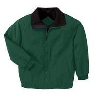 Harriton Fleece-Lined Nylon Unisex Jacket