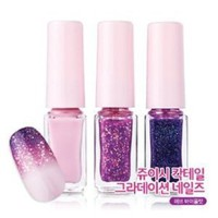 Amazon.com: Etude House Juicy Cocktail Gradation Nails. #3 Love Violet (4g x 3EA): Beauty