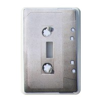 Cassette Tape Switch Plate Cover by abethepunk on Etsy