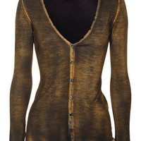 Cardigans - AVANT TOI - Used Dark Caramel by jades24