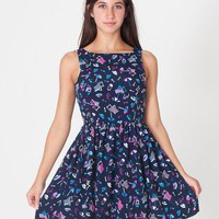Printed Sun Dress | Shop American Apparel