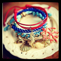 Nautical Summer Bracelet Set