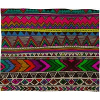 DENY Designs Home Accessories | Kris Tate Poncho Fleece Throw Blanket