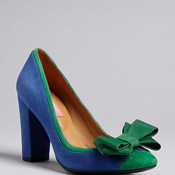 Isaac Mizrahi New York Square Toe Pumps - Lauren High Heel - Shoes - Bloomingdale's