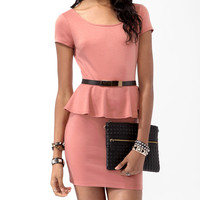 Peplum Waist Dress