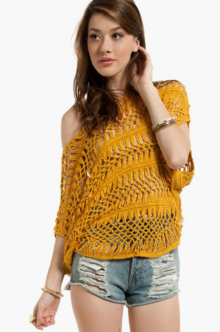 Macrame Layering Top $33 (on sale from $48)