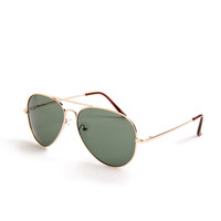Aviator Metal Sunglasses - 2020AVE