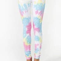 Tie Dye Skinny Jeans
