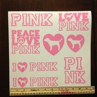 New victoria's secret Pink Sheet Decal Car Motor Truck Auto Window Vinyl