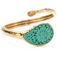 Bronzed by Barse Turquoise Cinnabar Bracelet - designer shoes, handbags, jewelry, watches, and fashion accessories   endless.com