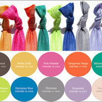Hair Ties - The Pantone 2012 Fall C.. on Luulla
