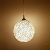 Handmade lamp Extra large pendant light by FiligreeCreations