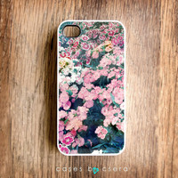 Unique iPhone Case, iPhone 4 Case, Floral Phone 4 Case Flower Case, Photograph iPhone 4, Christmas Gift Ideas