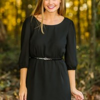Sugar & Spice Tunic-Black