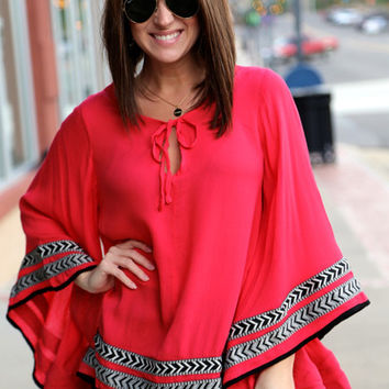 Fierce Feeling Poncho