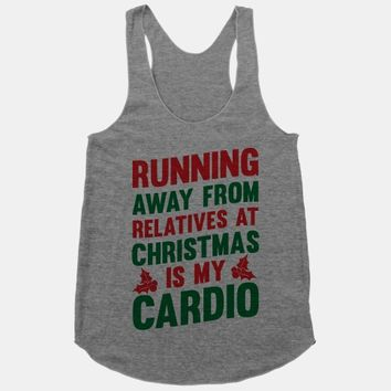 Running Away From Relatives At Christmas Is My Cardio