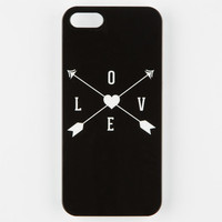 Love Arrow Iphone 5/5S Case Black/White One Size For Women 25220112501