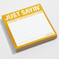 Just Sayin&#x27; Sticky Notes | Passive Aggressive Notes | fredflare.com