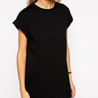 ASOS Boyfriend T-Shirt with Roll Sleeve 3 Pack SAVE 20%