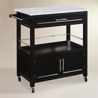 Granite Top Thea Kitchen Cart - World Market