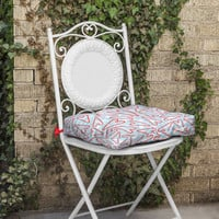 Lisa Argyropoulos Holiday Love And Polka Dots Outdoor Seat Cushion