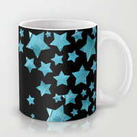 Starry Magic - Blue Mug by Lisa Argyropoulos