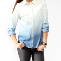 Ombr Denim Shirt