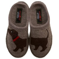 Haflinger Women&#x27;s Doggy Violet Slipper