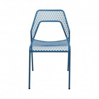 Blu Dot Hot Mesh Indoor/Outdoor Chair - Blue
