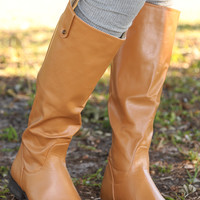 Night On The Town Boots: Caramel