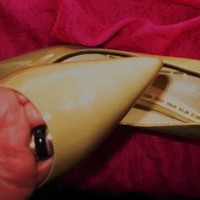ENZO ANGIOLINI SHOES MUSTARD LACQUER LEATHER CLASSY PUMPS !S8/38.5M !