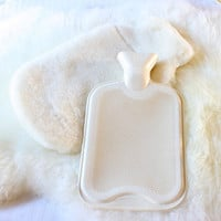 Merino Wool Hot Water Bottle Cover