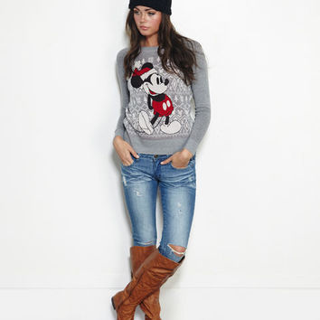 Christmas Mickey™ Sweater | Wet Seal