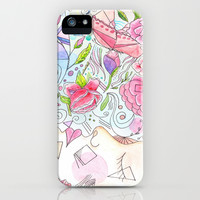 Her Beauty Regime iPhone & iPod Case by Catherine Holcombe
